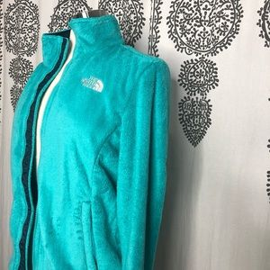 Women's The north place teal/turquoise jacket